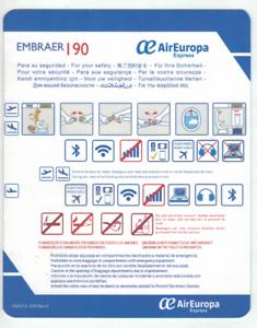 Safety-Card-Air-Europa-Embraer-190-OVA-F3-039-Rev-3