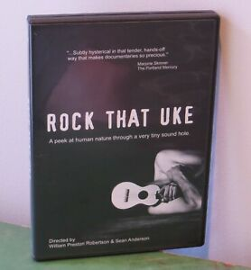Rock-That-Uke-DVD-2008-RARE-OOP-Ukulele-Documentary-w-Holly-Hunter-LIKE-NEW