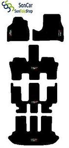 DECORO: TRICOLORE e LANCIA 7 POSTI 4 Block! TAPPETI LANCIA PHEDRA 2002-08