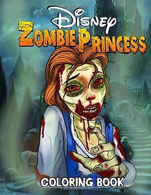Zombie Princess Coloring Book: Creepy Princess Coloring ...