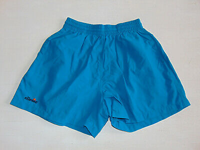 Aggressivo Vintage 80 90 Ellesse Shorts 54 Xl Pantaloncini Og Tennis Verde Borg Supplex Blu Grande Assortimento