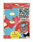 Melissa & Doug Simply Craft Superhero Masks and Cuffs Children Entertainemt