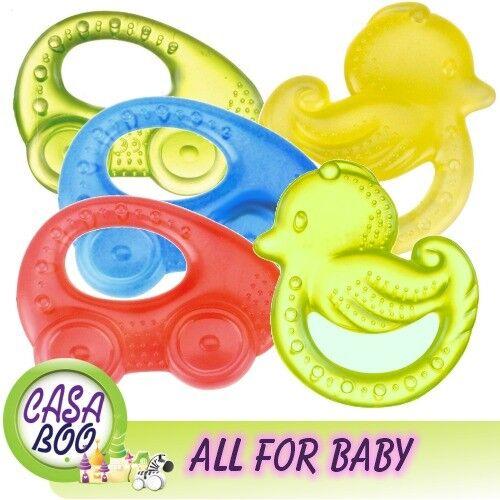 Free Bpa Canpol Baby First Water teether CAR & HEART 0m+ Hand  LIGHT