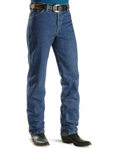 WRANGLER-Men-039-s-George-Straight-Cowboy-Cut-Slim-Fit-Blue-Denim-Jeans-936GSHD-NWT
