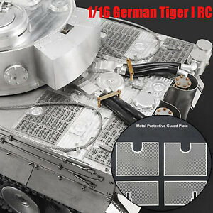 Metal-Protective-Armored-Guard-Plate-For-1-16-Henglong-German-Tiger-3818-RC-Tank