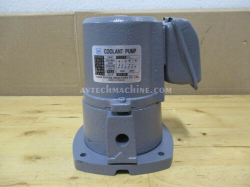 Yeong Chyung Coolant Pump Suction Type 3 Phase 1//8HP 230//460V YCP-801-3 MC-8000
