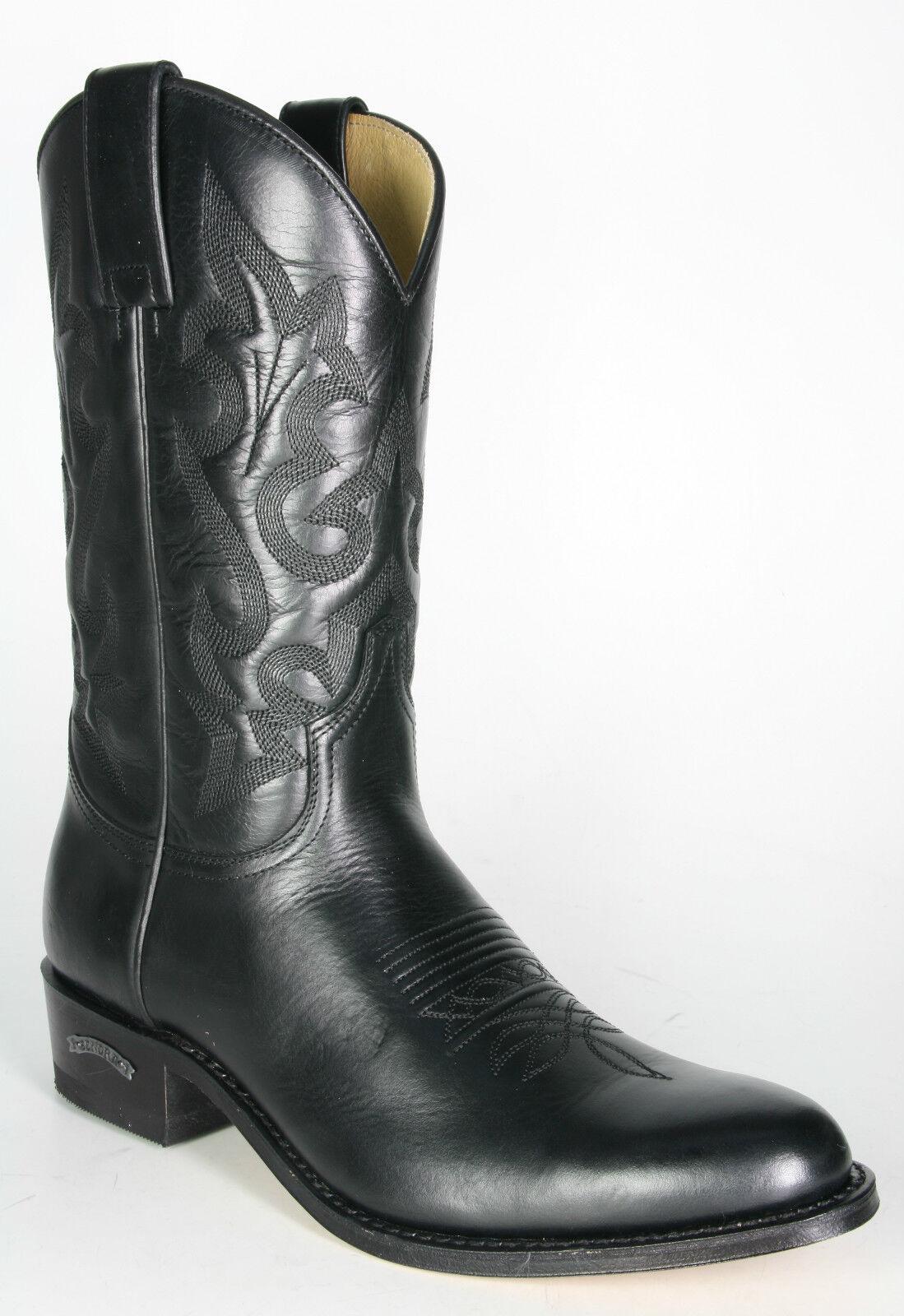 8589 Sendra Cowboystiefel LAZO black Westernstiefel