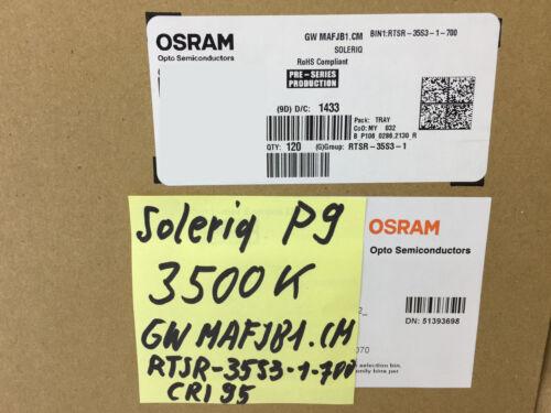 1 Stück //1 piece OSRAM SOLERIQ P9 LED COB 3500K WARM WHITE CRI 95 GW MAFJB1.CM