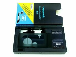 VHS-to-VHS-C-VHSC-VHS-C-Tape-Converter-Adaptor-Play-Compact-Cassette-VCR-Player