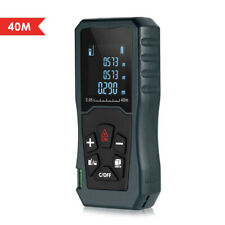 Handheld Digital Laser Point Distance Meter Tape Range Finder Measure 40m Tool