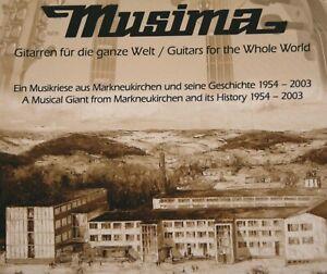 Top Domain www.musima.de vom Traditionsunternehmen Musima der DDR