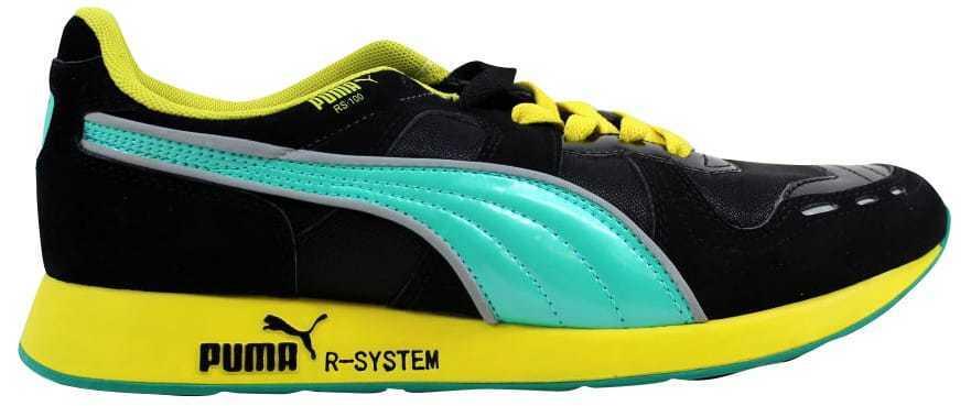 Puma RS100 HL Negro Azul-verde Brillo 356616 01 para hombres