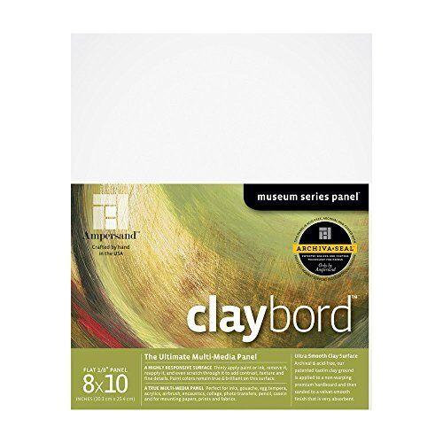 Ampersand Museum Series Claybord 1//8 Inch 8X10