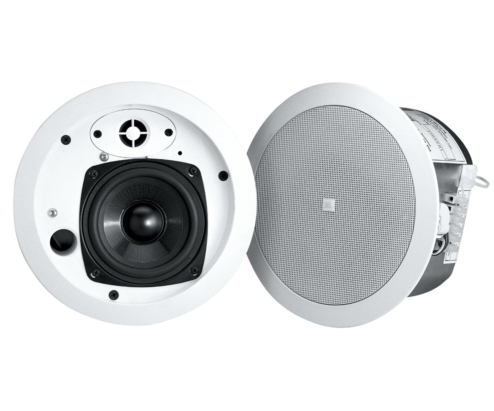 2 JBL Control 24CT Micro Plus 4  70V 25w Commercial Restaurant Ceiling Speakers