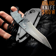 MASTER USA TACTICAL FRONTIER GREY Full Tang Fixed Blade HUNTING Knife w/ SHEATH