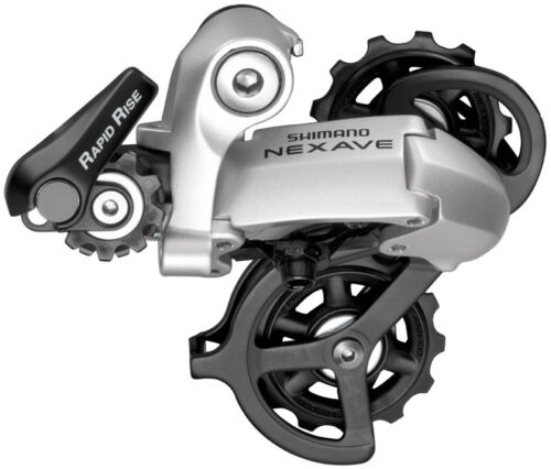 OFFER * Shimano derailleur NEXAVE rd-c530 SS Silver 8-Compartment
