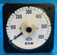 CROMPTON 0-600 VOLT METER SCALE VA-PZSJ