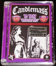 Candlemass: 20 Year Anniversary Party DVD 2007 Peaceville Germany DVDVILE10 NEW