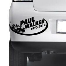 RIP PAUL WALKER  Car Window Bumper Wall JDM Xbox Vinyl Decal Sticker