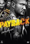 WWE Payback 2015 R1 DVD John Cena Randy Orton