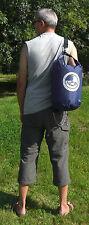 15L rain & splashproof roll top dry bag sack HD 70D Nylon PVC