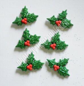 DRESS IT UP Buttons Christmas Poinsettias 2951 Embellishment Xmas
