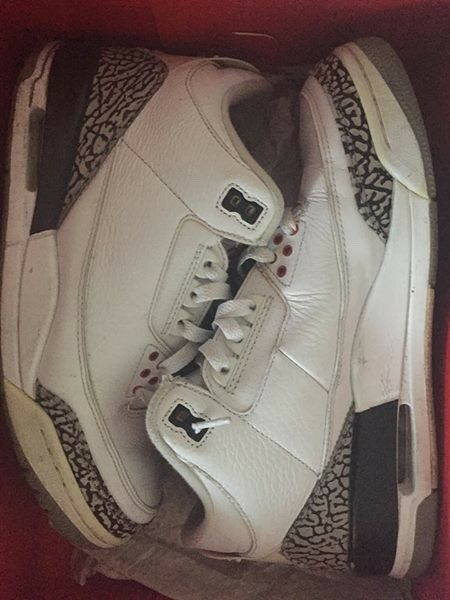 2011 Nike Air Jordan III 3 Retro WHITE CEMENT 8 Special limited time