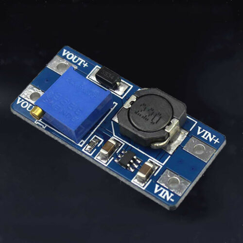 2Pcs 2A Adjustable DC-DC Step Up Power Supply Module Booster for Arduino