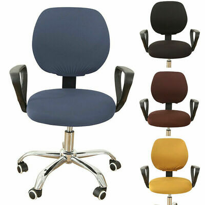 Computer Swivel Chairs Covers Universal Stretch Floral Office Chair Slip Cover