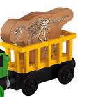 DINOSAUR T REX CAR Thomas Tank Engine Wooden Railway NEW T-REX DINO