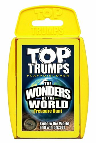 Top Trumps Divertimento Bambini Gioco di Carte 1 Pack fornito NUOVO
