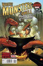 Where Monsters Dwell #4 Frank Cho Cover Marvel Comic Book Secret Wars 1st Print