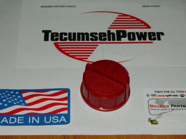 MTD / Yardman / Murray  fuel cap gas cap RED GENUINE TECUMSEH 37845