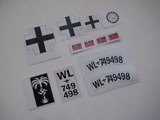 B2G1F Deetail German Infantry Radio Operator Stickers Britains