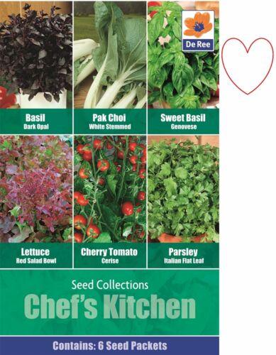 Semences Potagères du chef cuisine Persil Basilic Pak Choi Laitue