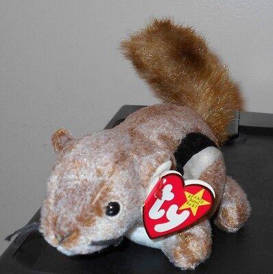 d2d68acfff7 Ty Beanie Baby ~ CHIPPER the Chipmunk (6.5 Inch) MWMT