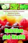 Nutrition and Health Web Resource Guide for Consumers Healthcare Providers PA
