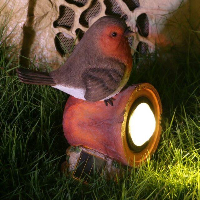 New Decorative Resin Gardenkraft Solar Meerkat on a Bike Garden Ornament Light