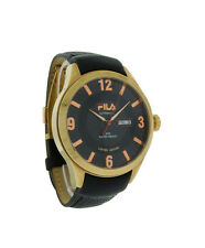Fila FA0796-71 Highway Men's Black Rose Gold Tone Automatic Day/Date Watch