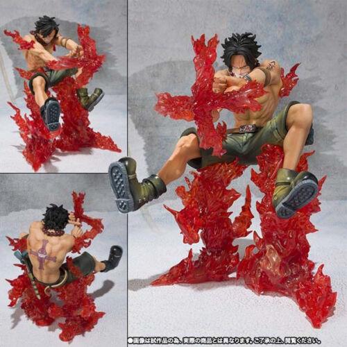 Japanese Anime Manga One Piece Portgas D ACE Figure Statues Figurine 13cm no box