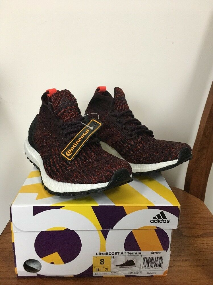 3ea910fa6 adidas Ultra Boost ATR All Terrain Mid Burgundy S82035 Size 8 for ...