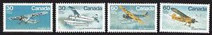 1982-Canada-SC-969-972-Bush-Aircraft-Lot-140-M-NH