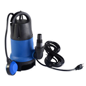 1 2 hp 2000gph submersible dirty clean water pump flooding for Best rated pond pumps
