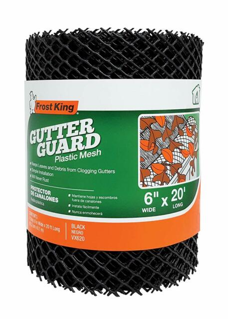 Gutter Guard Mesh No Blocked Leaves Gutters Guttering 15cm