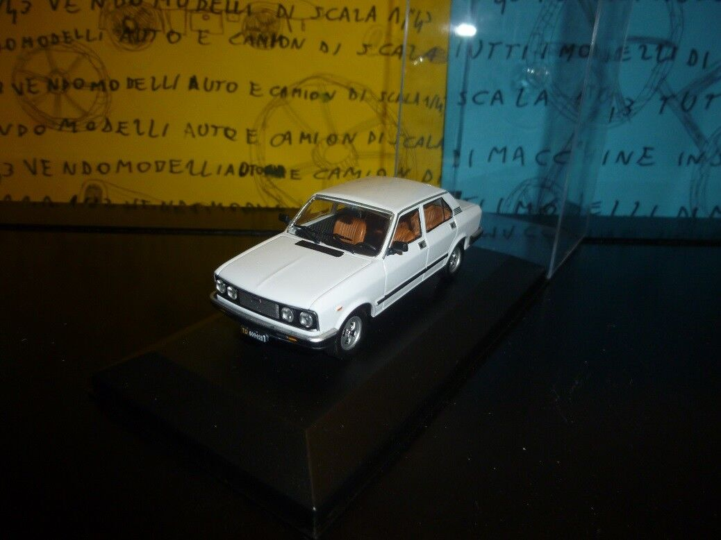 1 43 Fiat 132 - 1978 1982 bianco blancoo weiss blanco  - professional repainted