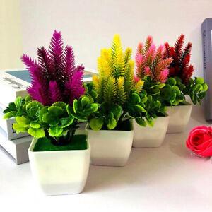 Am-1Pc-Artificial-Flower-Grass-Potted-Bonsai-Living-Room-Office-Garden-Desk-Dec