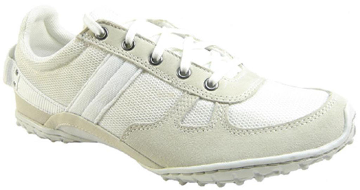 New $95  DIESEL Wave  Women's Shoes Size US 10 White