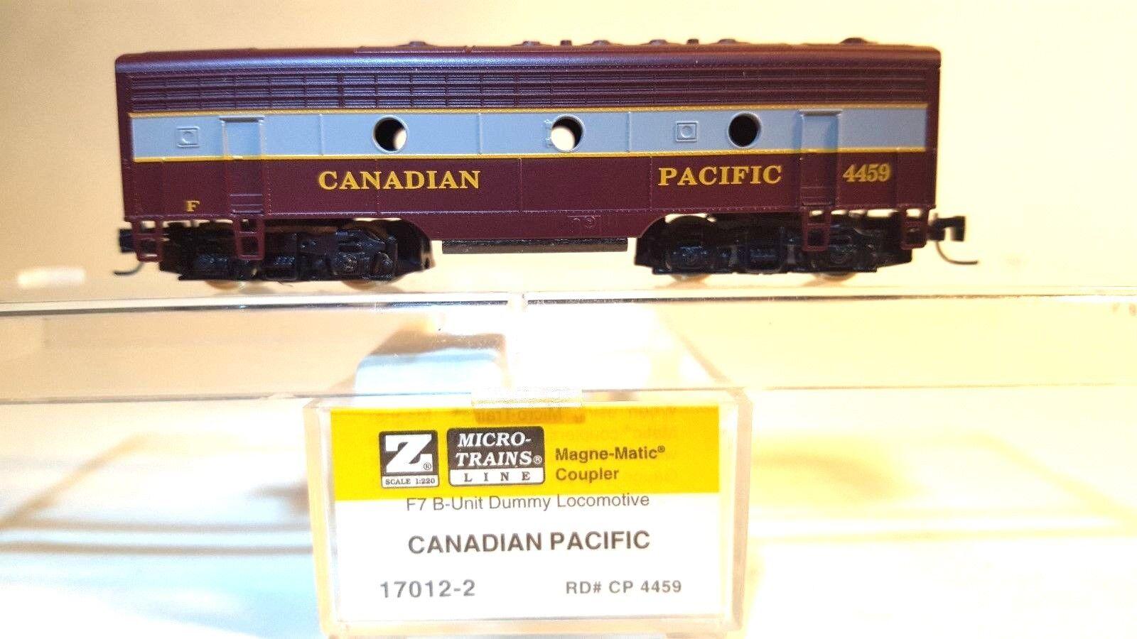 MTL Z 17012-2 F7 CP Non-Powerosso B-Unit Locomotive  4459