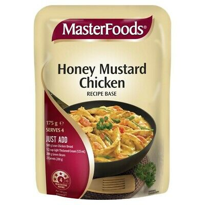 Masterfoods Honey Mustard Chicken Recipe Base 175g 19310012027895 Ebay