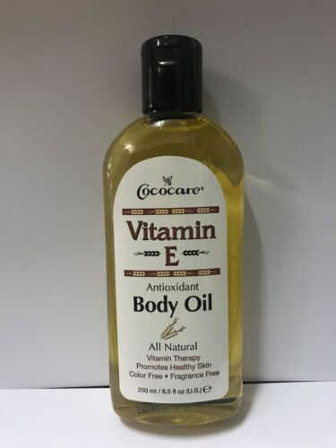Cococare Vitamin E Body Oil 250ml 8.5 fl.oz.
